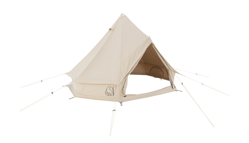 Nordisk Asgard 12.6 m² - Tente - Technical Cotton beige